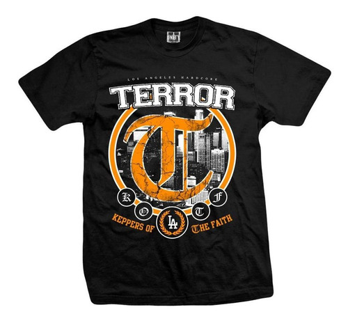 remera terror  keepers of the faith