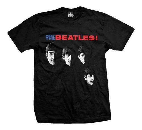remera the beatles  meet the beatles