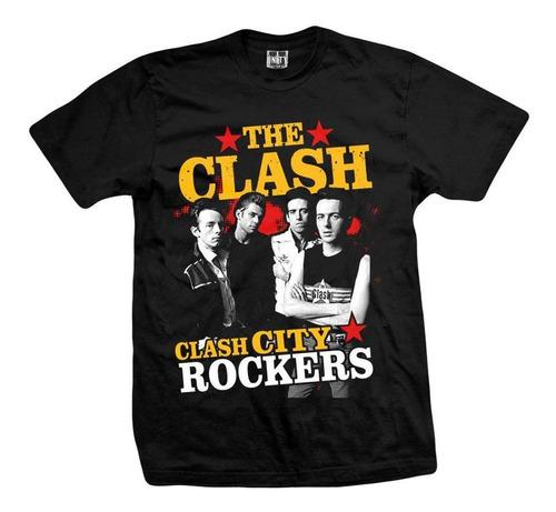 remera the clash  clash city rockers