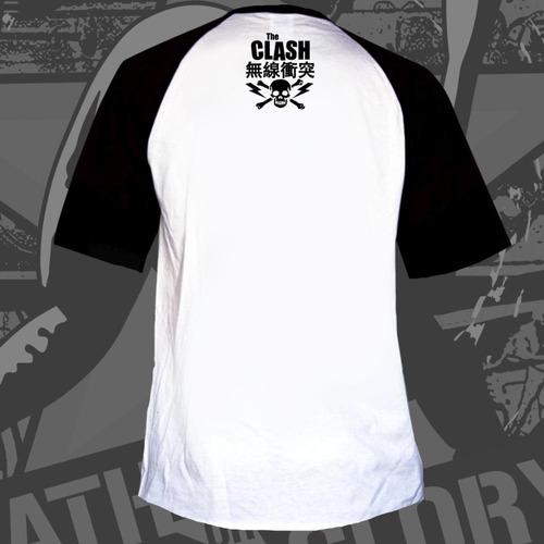 remera the clash  death or glory