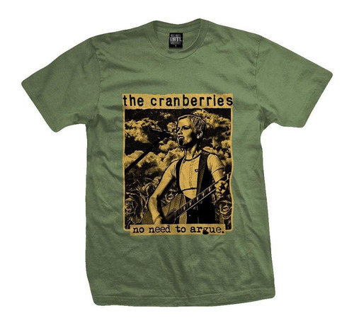 remera the cranberries  no need to argue