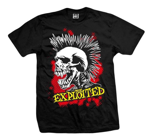 remera the exploited  clasic
