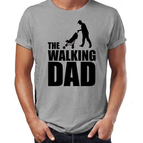 remera the walking dad funny walking dead zombie father's d