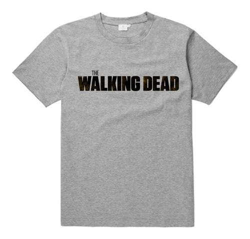 remera the walking dead unisex algodon estampada serie #4