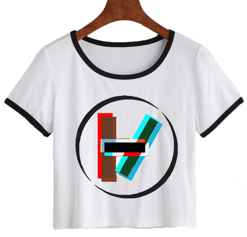 remera twenty one pilots corta