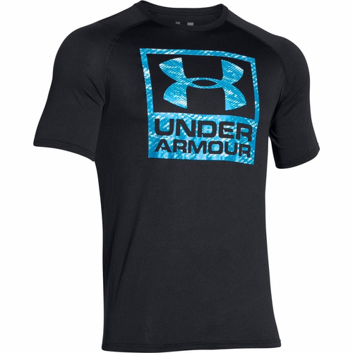 remera under armour boxed logo ss t