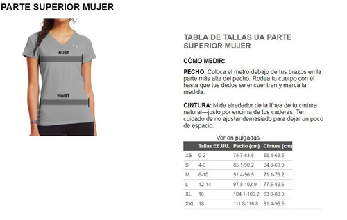 remera under armour mujer