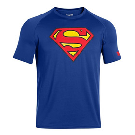 Remera Under Armour Superman Mod. 1249871 Talle S Unicamente