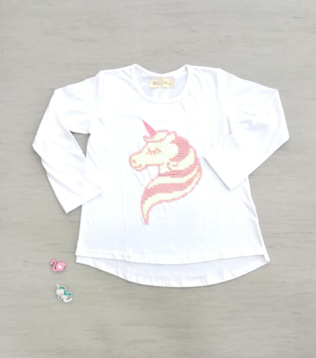 b8600f2c3 remera unicornio lentejuelas reversibles niña nena ropa. Cargando zoom.