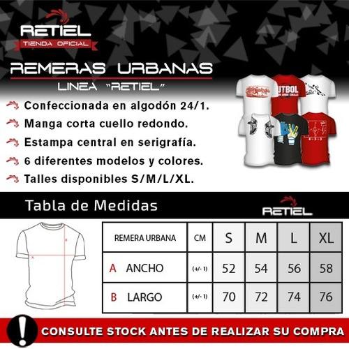 remera urbana #fútbol retiel