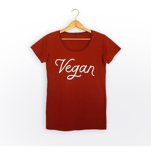 remera  vegan (bordó)