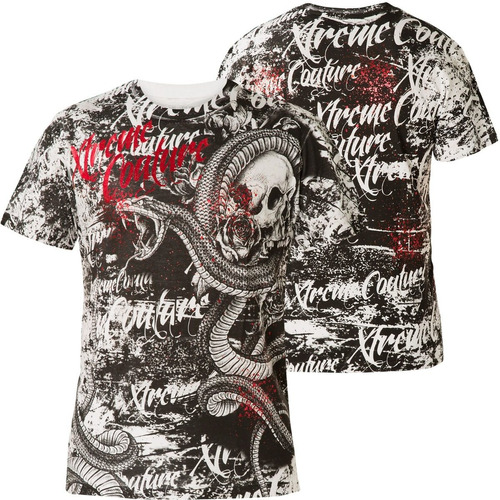 remera xtreme couture blacktooth white