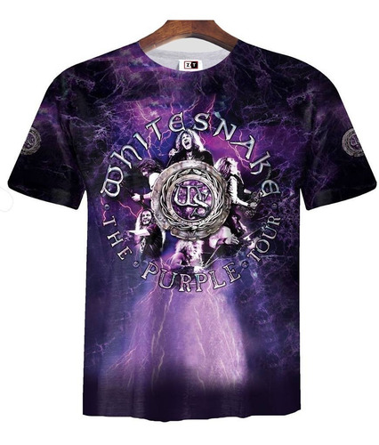 remera zt-0153 - whitesnake purple album