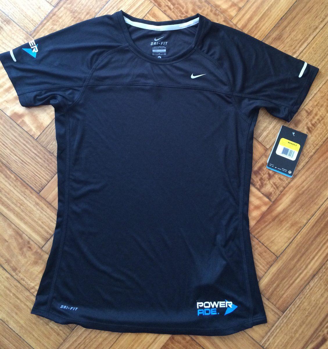 21a567f342 remera camiseta nike running dri-fit negra-talle s. Cargando zoom.
