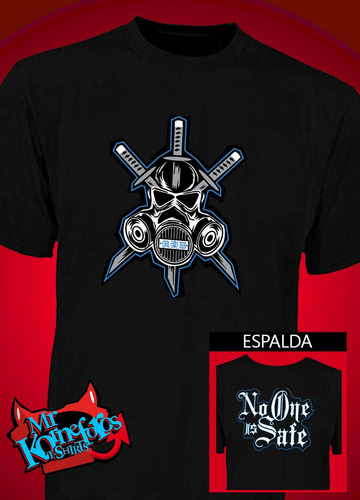 remeras aj styles the club  gallows anderson lucha libre