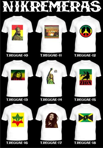 remeras bandas reggae,ska,rasta,jah,rocksteady,+ 90 modelos!