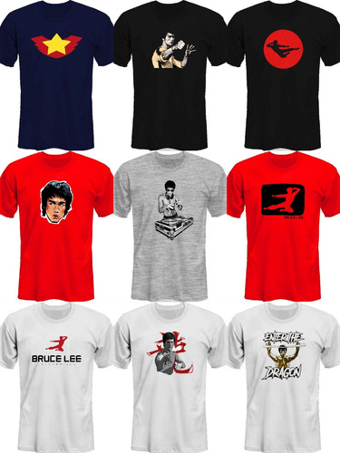 remeras bruce lee dj electronica movie |mr korneforos|