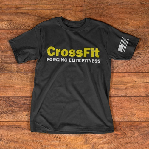 remeras crossfit foging elite fitness algodon premium