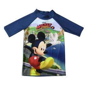 Remeras De Playa Mickey Filtro Uv.