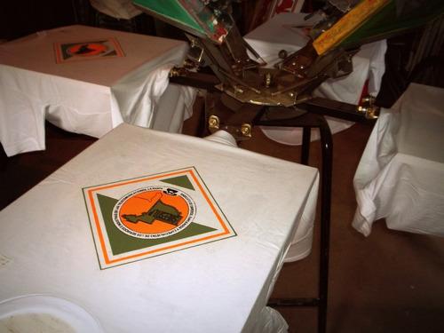 remeras estampadas en serigrafia