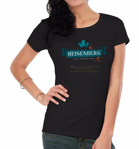 remeras estampadas mujer   breaking bad5  inkpronta