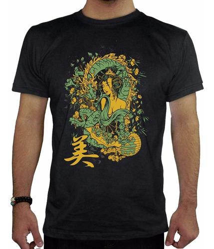 remeras estampadas personalizadas dragon hombre
