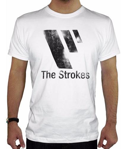 remeras estampadas personalizadas  the strokes1 hombre