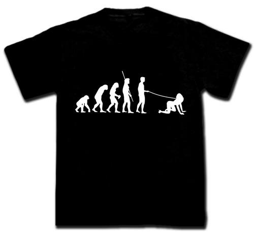 remeras evolución hombre dominante