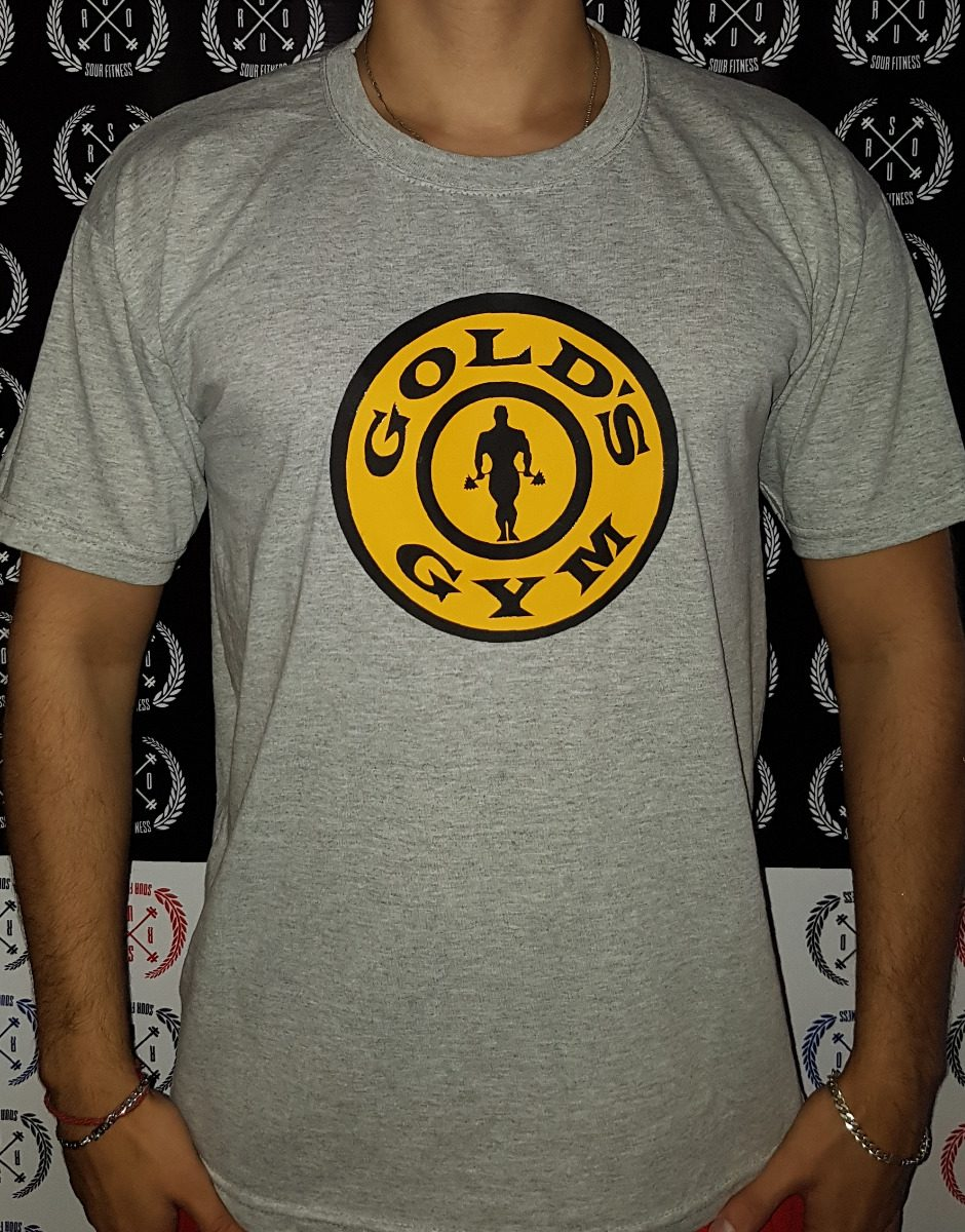 remeras fitness algodon entalladas gym golds gym gimnasio. Cargando zoom. 6b8dd679682