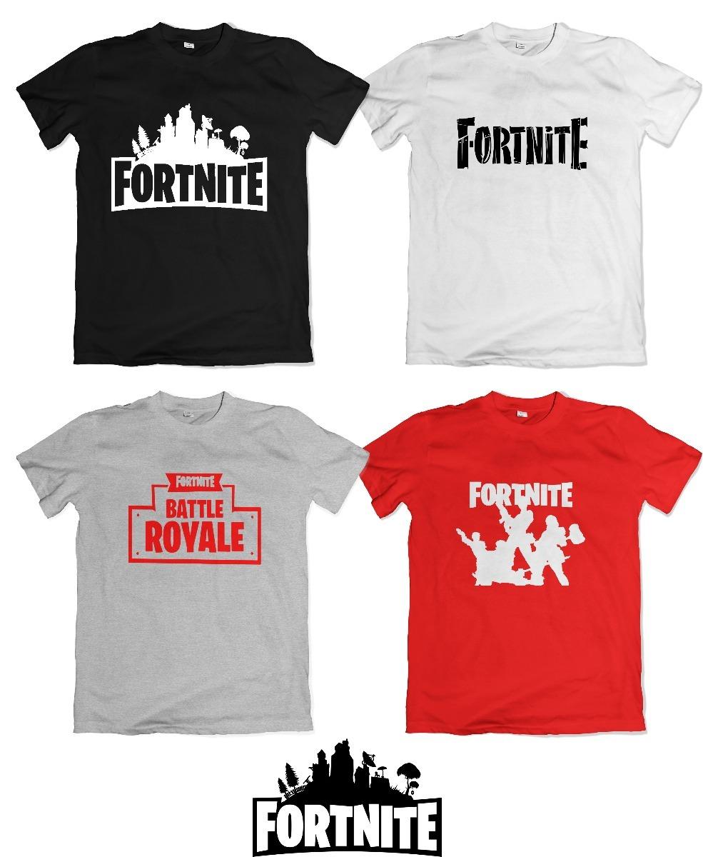 remeras fortnite chicos battle royale logo personalizada cargando zoom - remeras de fortnite mercado libre