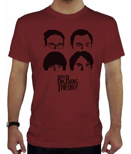 remeras hombre the big bang theory  inkpronta