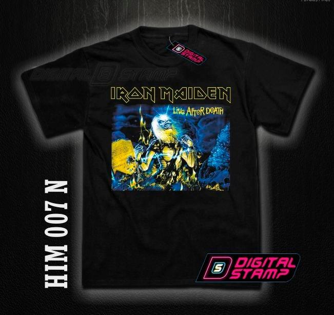 03dd0e0f7ea08 Remeras Iron Maiden Heavy Metal 7. Estampado Digital Unicas! -   400 ...