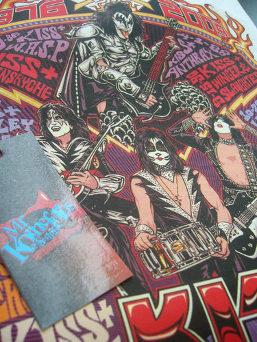 remeras kiss rock musica metal ver fotos! *mr korneforos*