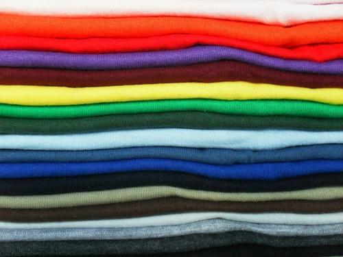 remeras lisas 100% polyester para sublimar