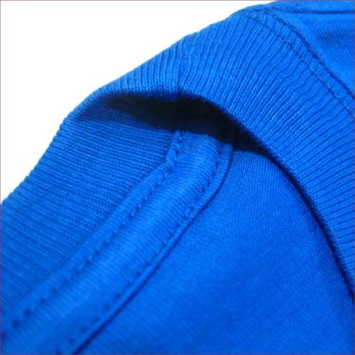 remeras lisas algodón jersey peinado esmerilado por unidad
