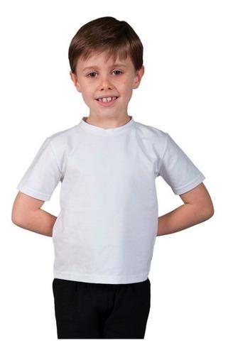 remeras lisas algodon para niños - envios a todo el pais
