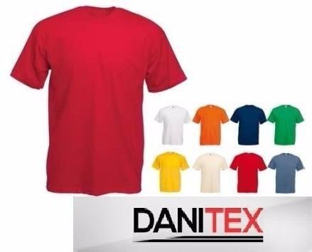 Remeras Lisas Algodon Supercardado S-xxl Danitex!!! -   58 7413edcbde4