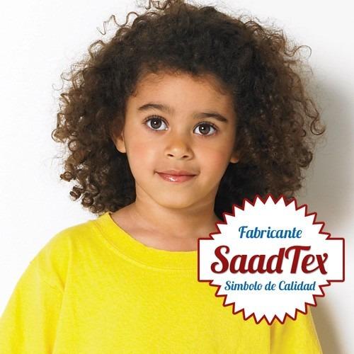 remeras lisas modal sublimar t. niños calidad antipiling