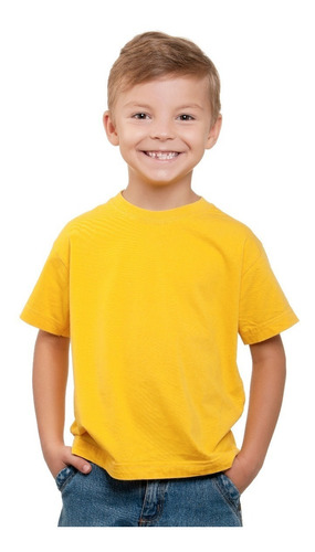 remeras lisas niño algodón excelente calidad