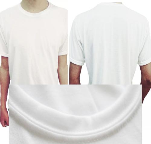 remeras lisas para sublimar 100% polyester poliester hombre