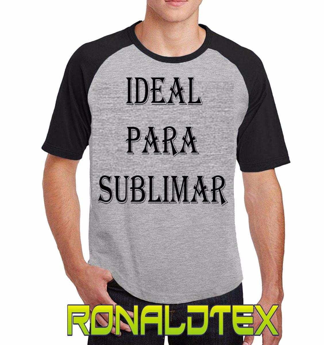 Remeras Lisas Ranglan Combinadas D Modal Premium P  Sublimar -   104 ... 40c359ca0fbf8