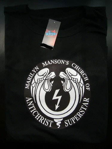 remeras marilyn manson rock metal ver fotos! *mr korneforos