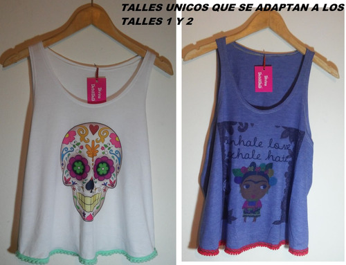 remeras mujer !!!