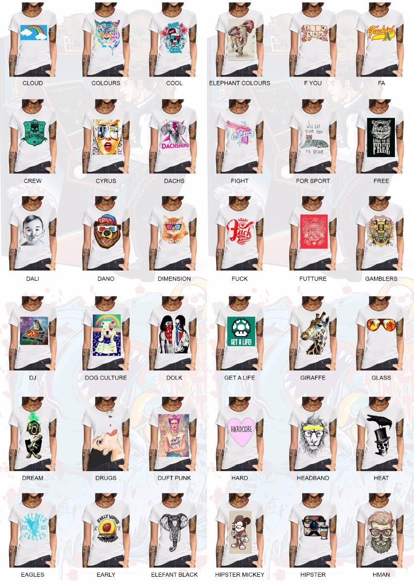 remeras mujer estampadas personalizadas elegi tu diseño!!! Cargando zoom. 06cc14561e320