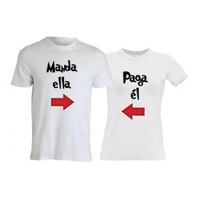 4e992eeaae9e1 Remeras San Valentin Parejas Personalizadas - Remeras y Musculosas ...