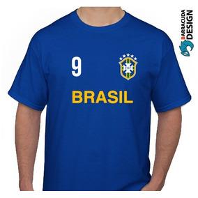 45b961dc0bdc9 Remera Hering Brasil - Remeras Manga Corta de Hombre Azul en Mercado ...