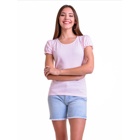 6aa0b1003 Remera Milu Manga Corta Mujer - Remeras y Musculosas en Mercado ...
