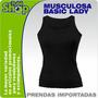 Musculosa Dama-t-shirt- Spandex- Por Mayor- Bordar- Estampar