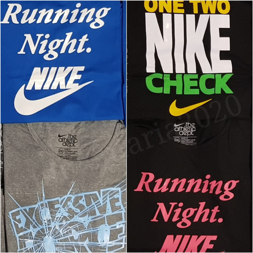 remeras nike mujer x mayor pack 10