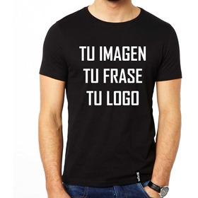 Remeras Personalizadas Estampadas Con Tu Logo Frase O Imagen
